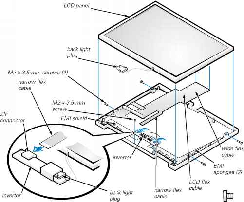 Display Assembly Latch